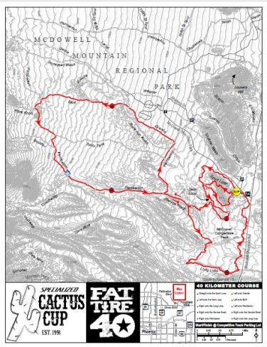 FT 40 KM Course